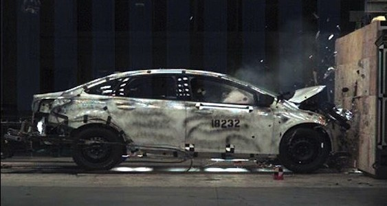2012 Ford Focus Crash Tests